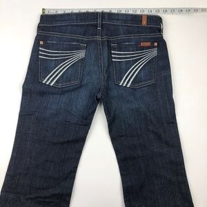 7 for all Mankind Jeans - 7 for all mankind dojo flare jeans 28x28.5